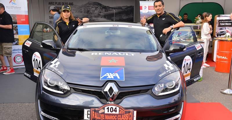 Rallye Maroc Classic : Renault Megane Classic en orbite