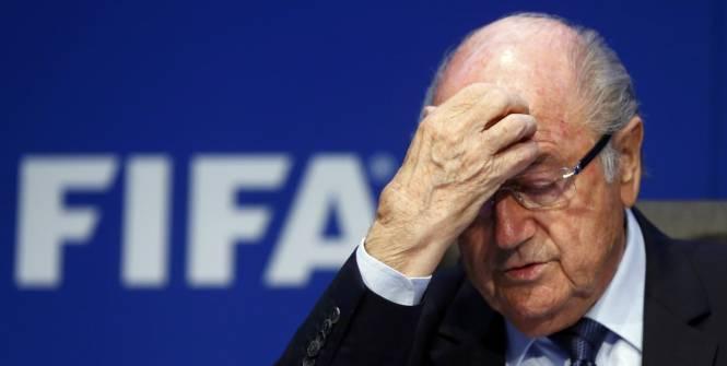 Blatter démissionne de la présidence de la Fifa