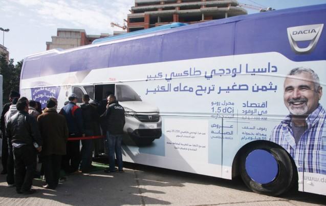 Caravane Lodgy Grands taxis : Plus de 2.500 professionnels touchés
