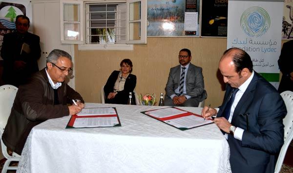 Développement durable : Partenariat Fondation Lydec - AESVT