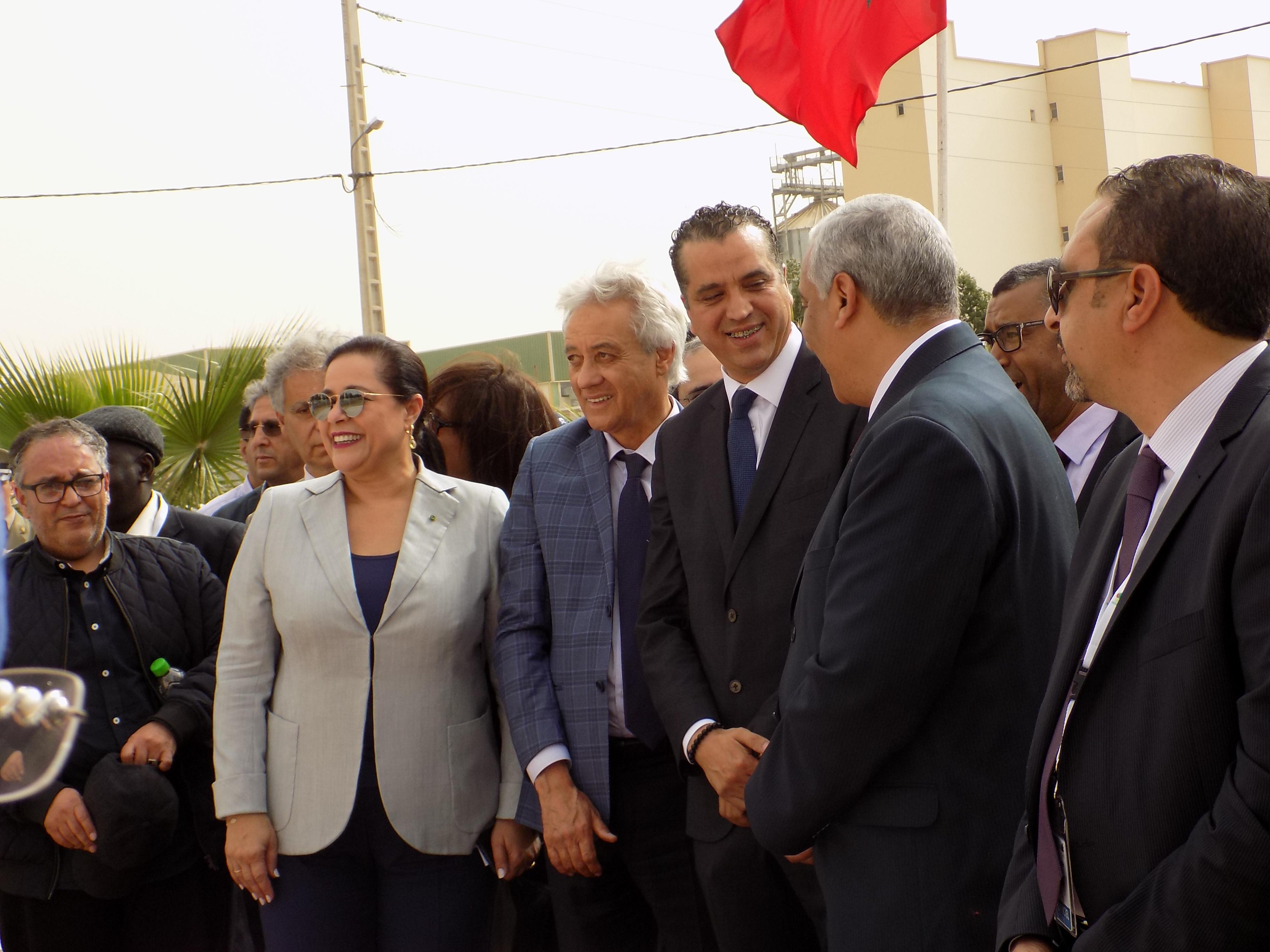 Premier coup de pioche du siège de la CGEM Région Meknès-Ifrane