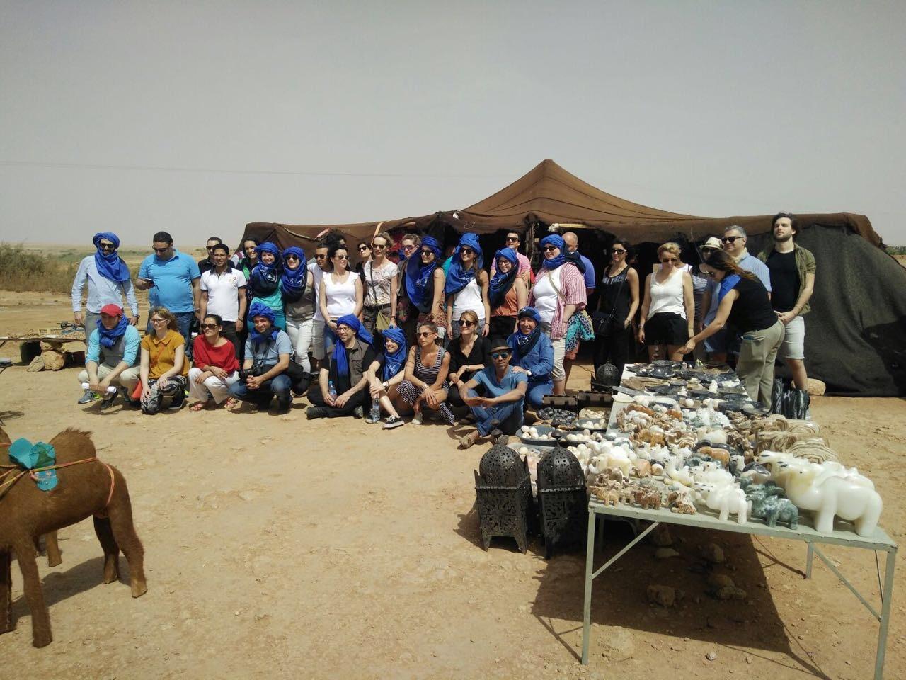Un méga éductour paneuropéen pour mettre en orbite Draa Tafilalt