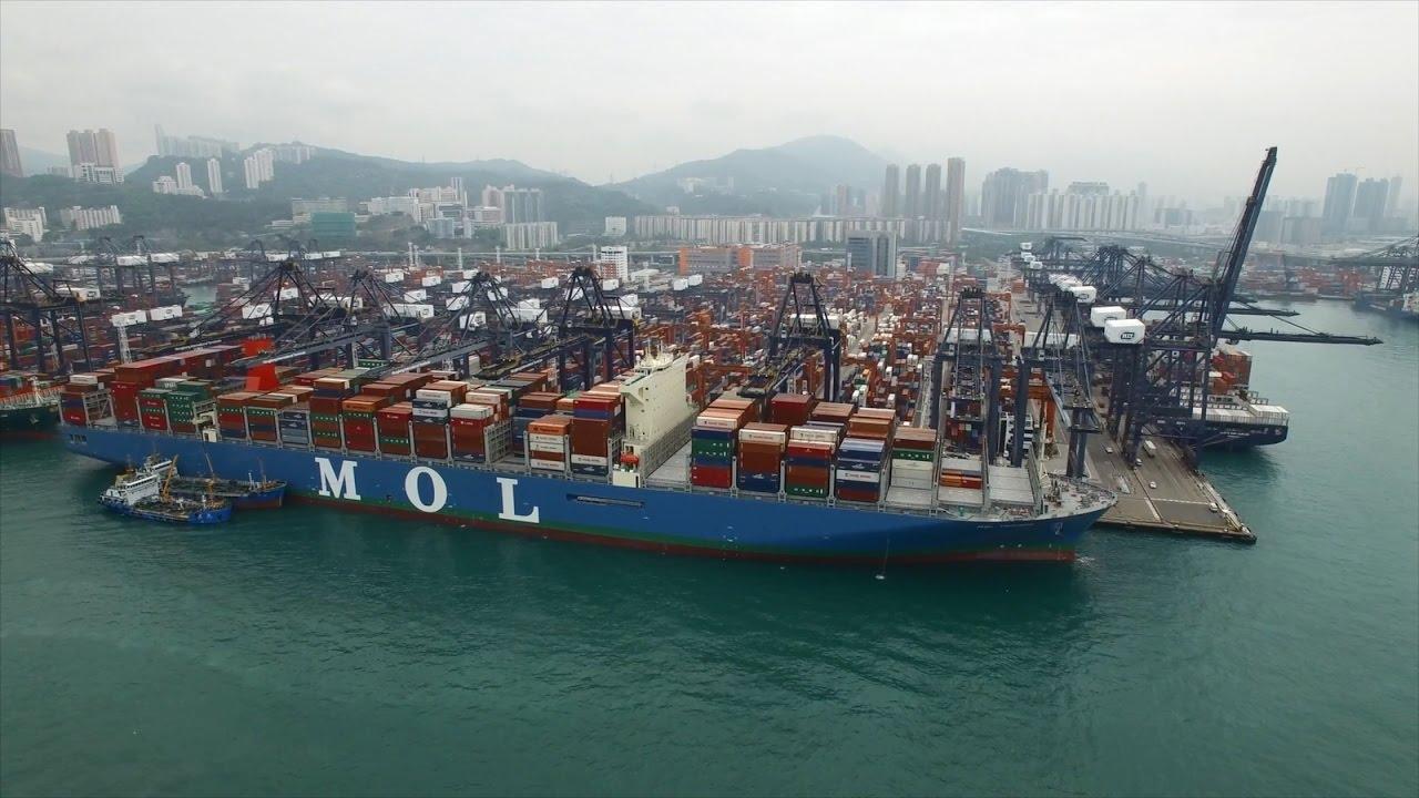 Le plus gros porte conteneurs au monde fait escale tanger - Le plus gros porte conteneur ...