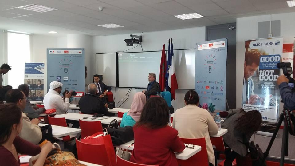 Première éditiondu Challenge franco-marocain de l'entrepreneuriat
