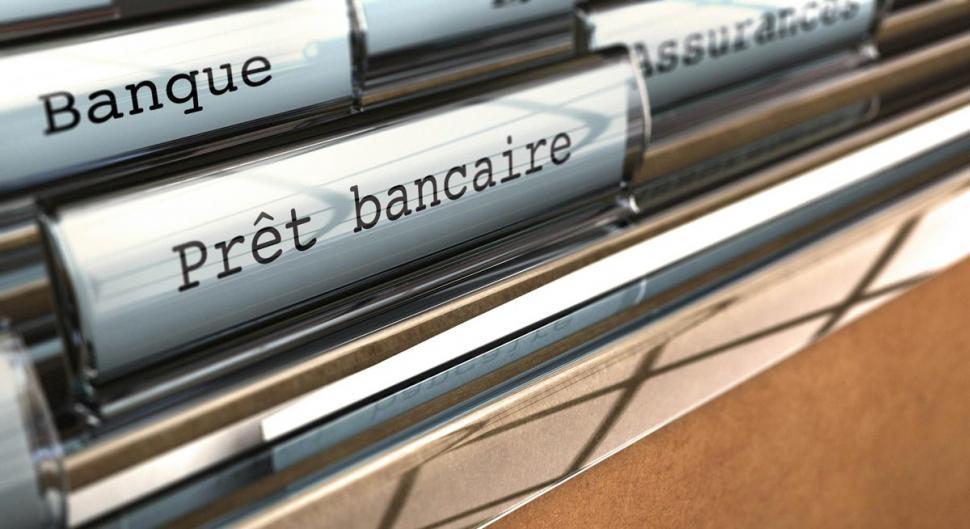 Hausse du crédit bancaire non financier