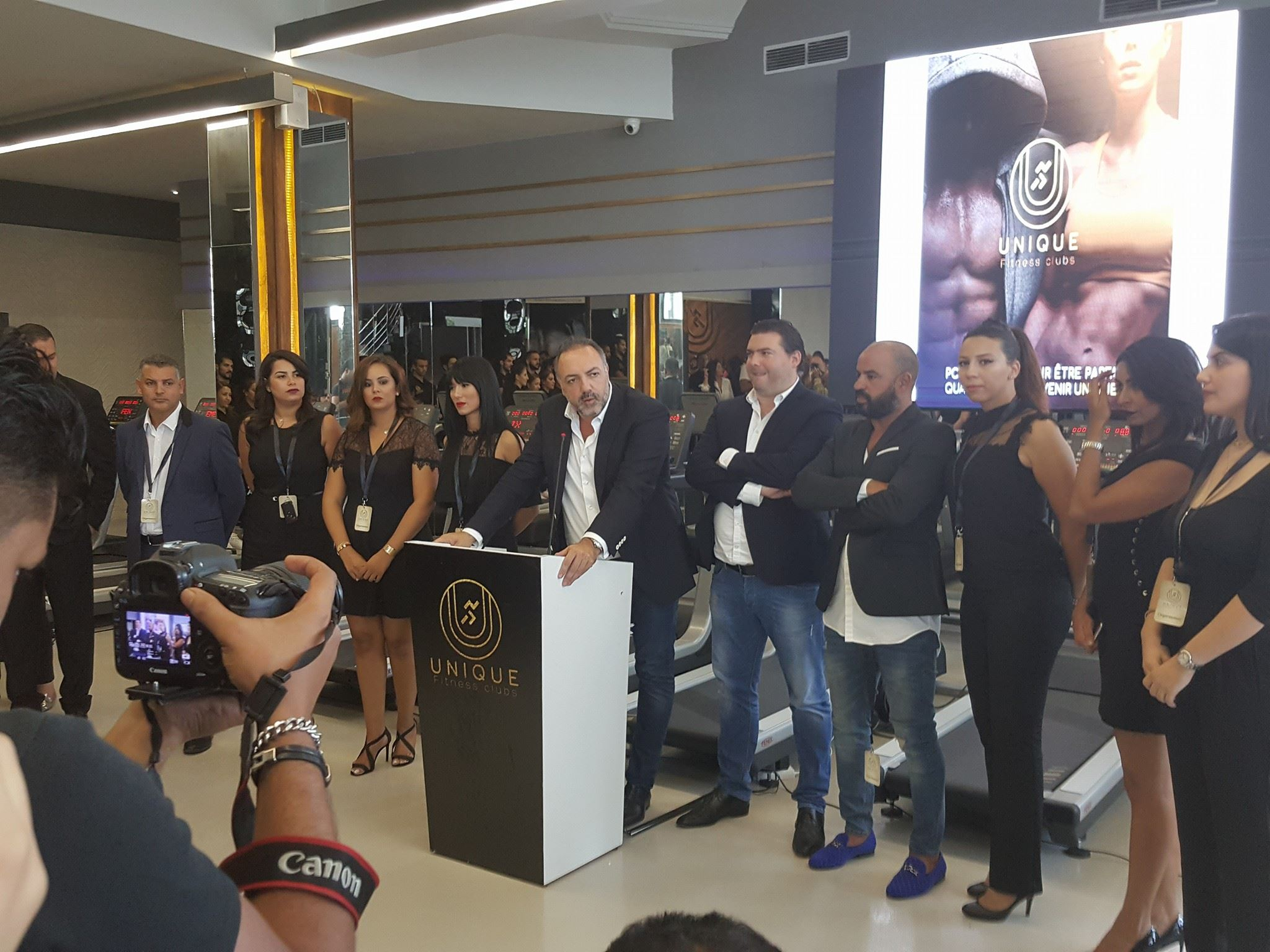 Le groupe City Club inaugure Unique Fitness Club