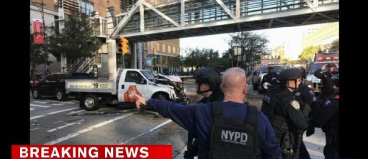 Manhattan : Une camionnette fonce sur des cyclistes, 6 personnes tuées