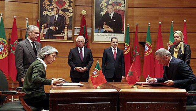 12 accords signés entre le Maroc et le Portugal