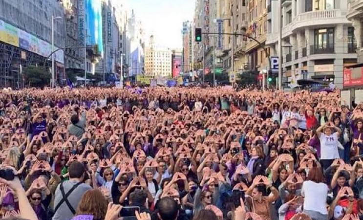Grève féministe d'ampleur en Espagne le 8 mars