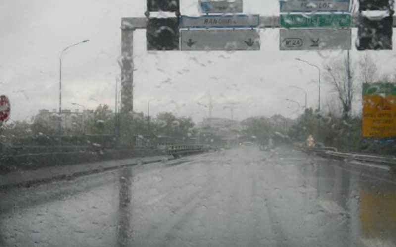 Fortes rafales de vent et fortes pluies mardi et mercredi