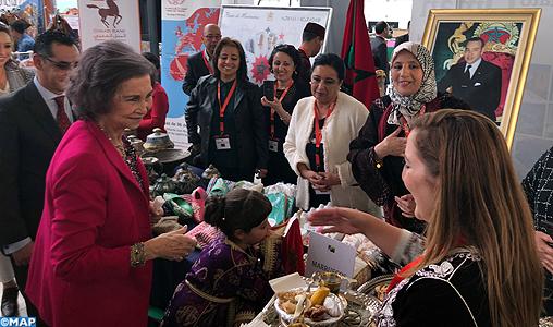 Le Maroc brille au 23ème Bazar diplomatique de bienfaisance à Madrid