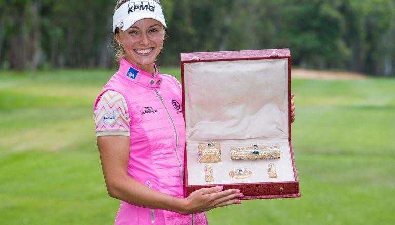 Coupe Lalla Meryem de golf: La Suédoise Jenny Haglund sacrée