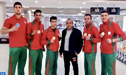 Le Maroc décroche 4 médailles d'or et une d'argent aux championnats d'Afrique de Kick-boxing