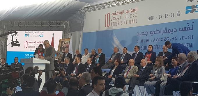 Le 10ème congrès national du PPS adopte le document politique et les statuts du parti