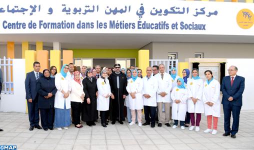 Le Roi inaugure à Rabat un Centre de formation dans les métiers éducatifs et sociaux