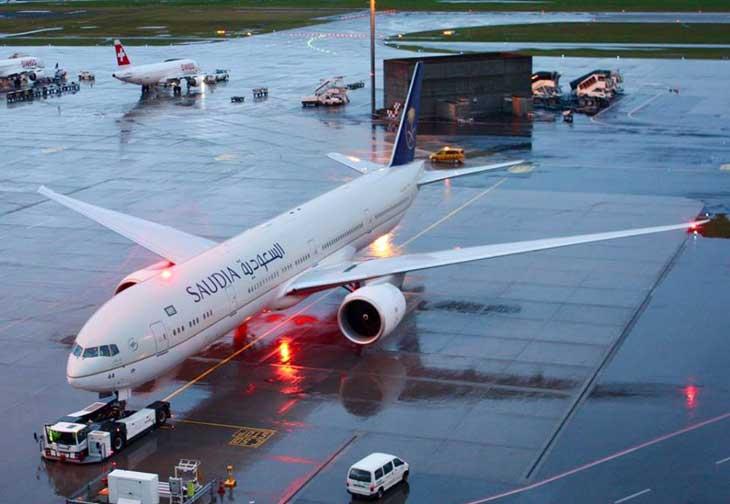 Atterrissage d'urgence d'un avion de la Saudia: Le pire évité
