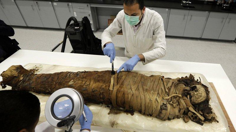 Découverte d'une momie millénaire au Pérou