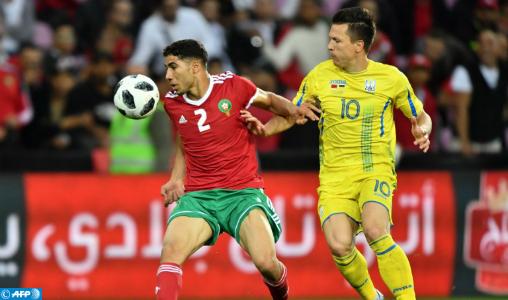 Mondial 2018 : le Maroc et l'Ukraine se neutralisent en amical