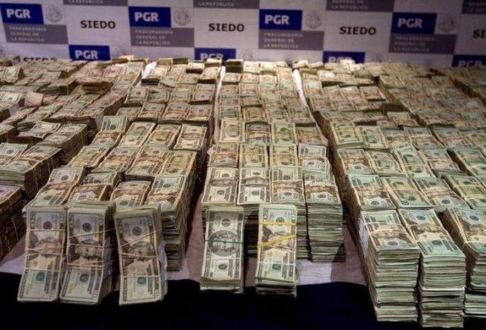 Mexique : La police saisit plus de 10,5 millions de dollars en liquide