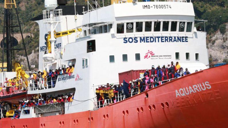 Malte refuse de recevoir un navire avec plus de 600 migrants