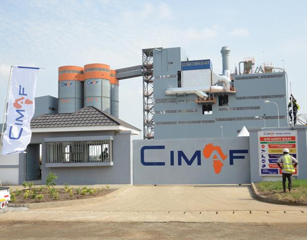 CIMAF consacre 15% de ses investissements à l'environnement au Ghana