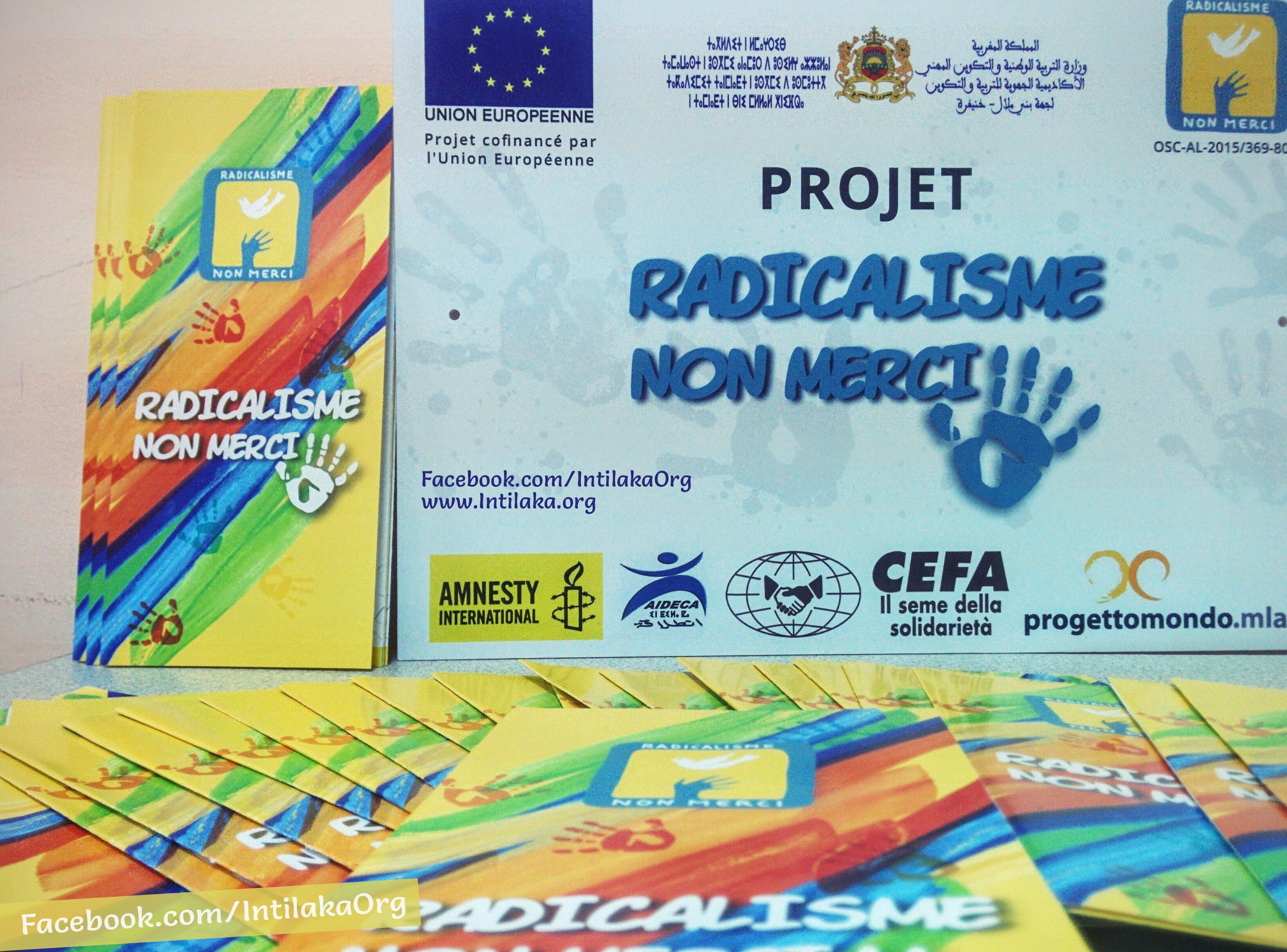 """Le projet """"Radicalisme, non merci"""" a formé 200 opérateurs éducatifs"""