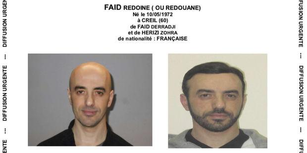 France : 2.900 policiers aux trousses de Redoine Faïd