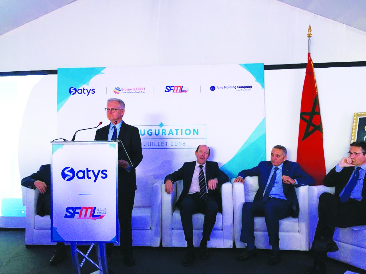 Inauguration de deux nouvelles unités aéronautiques à Casablanca