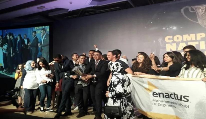 Enactus Morocco: L'École Mohammadia d'ingénieurs primée