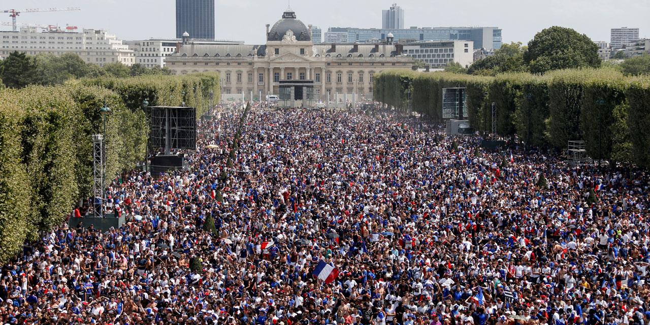 Mondial 2018 : La France championne du monde