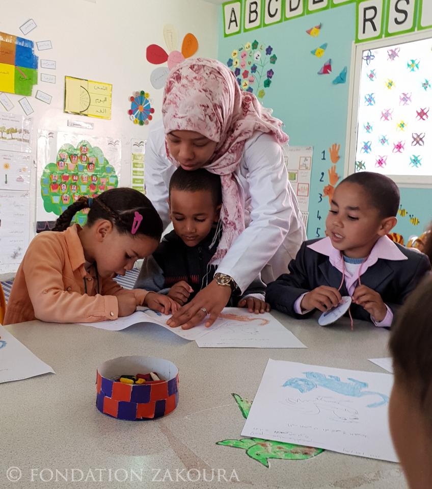 Plus de 6.000 enfants bénéficiaires des programmes de la Fondation Zakoura