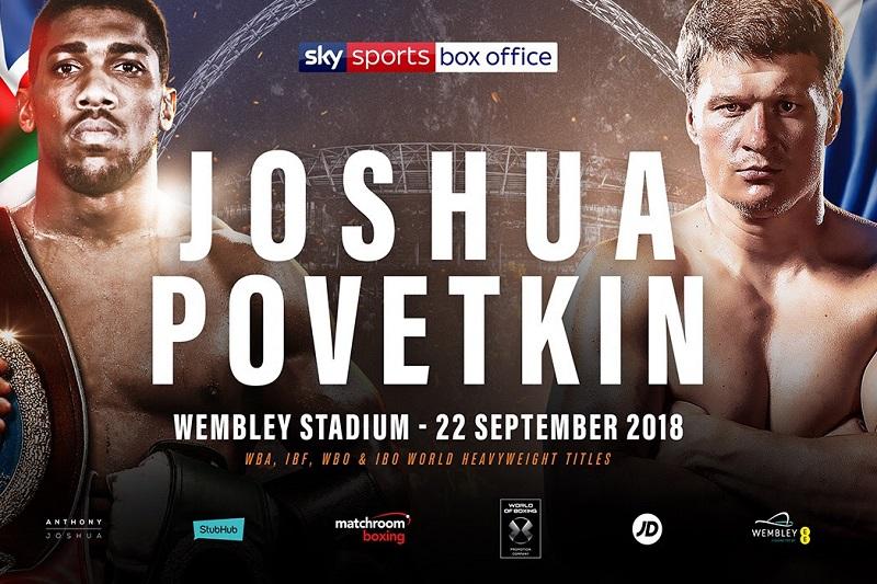 Boxe : Le combat Joshua - Povetkin scellé