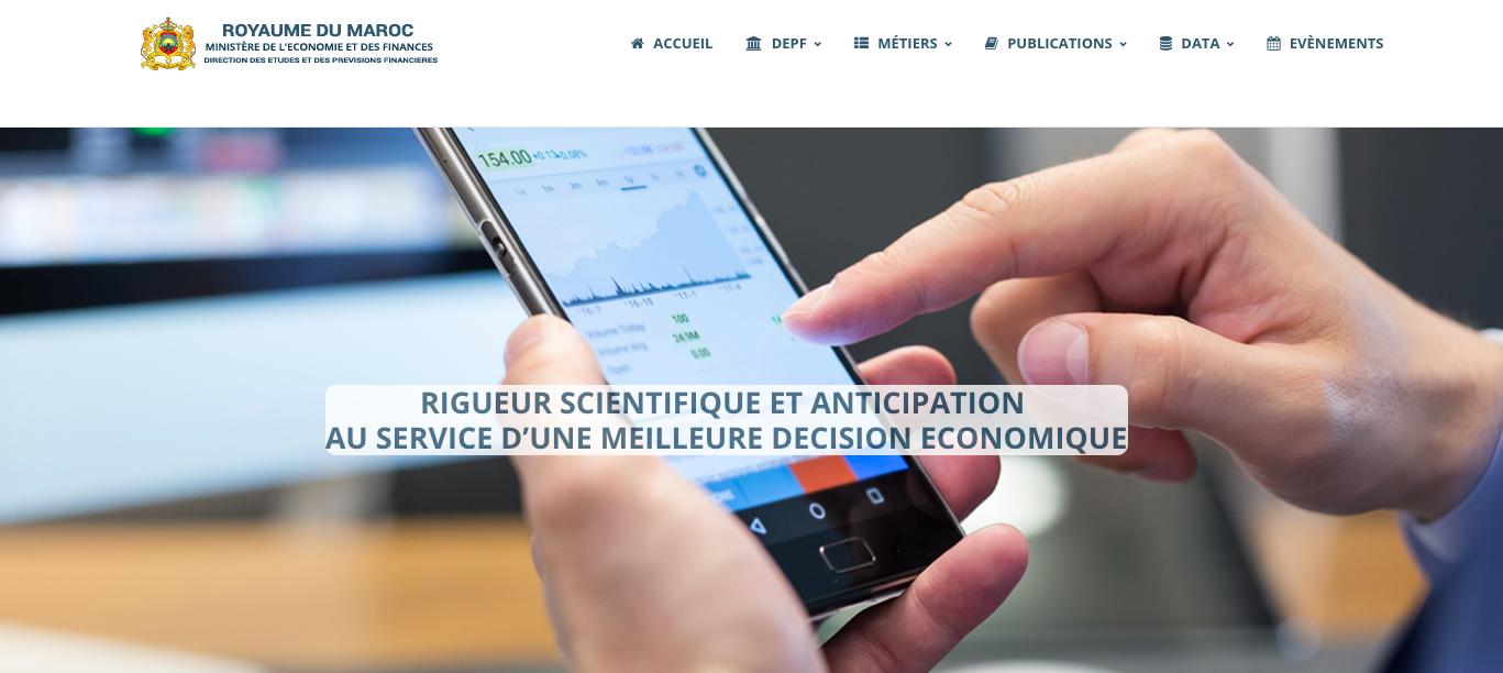 La DEPF met en ligne son nouveau site web