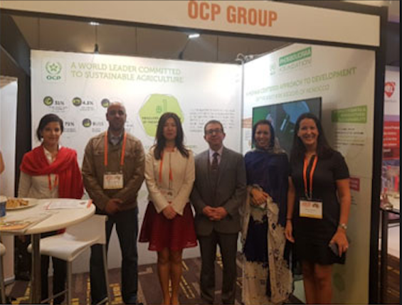 Le Groupe OCP expose son expertise à l'«Africa Down Under 2018»