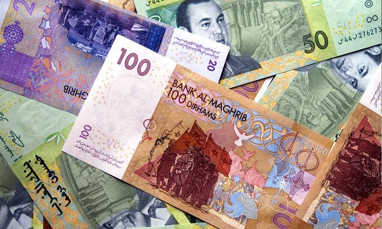 Le dirham s'apprécie de 0,7% face au dollar et se déprécie de 1% face à l'euro