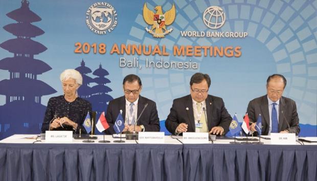 Le Maroc aux assemblées annuelles de la BM-FMI à Bali