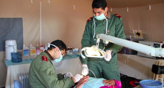 Les médecins marocains font du bon boulot à Gaza