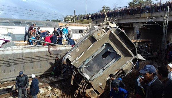 Déraillement de train à Bouknadel : Plusieurs morts, des dizaines de blessés