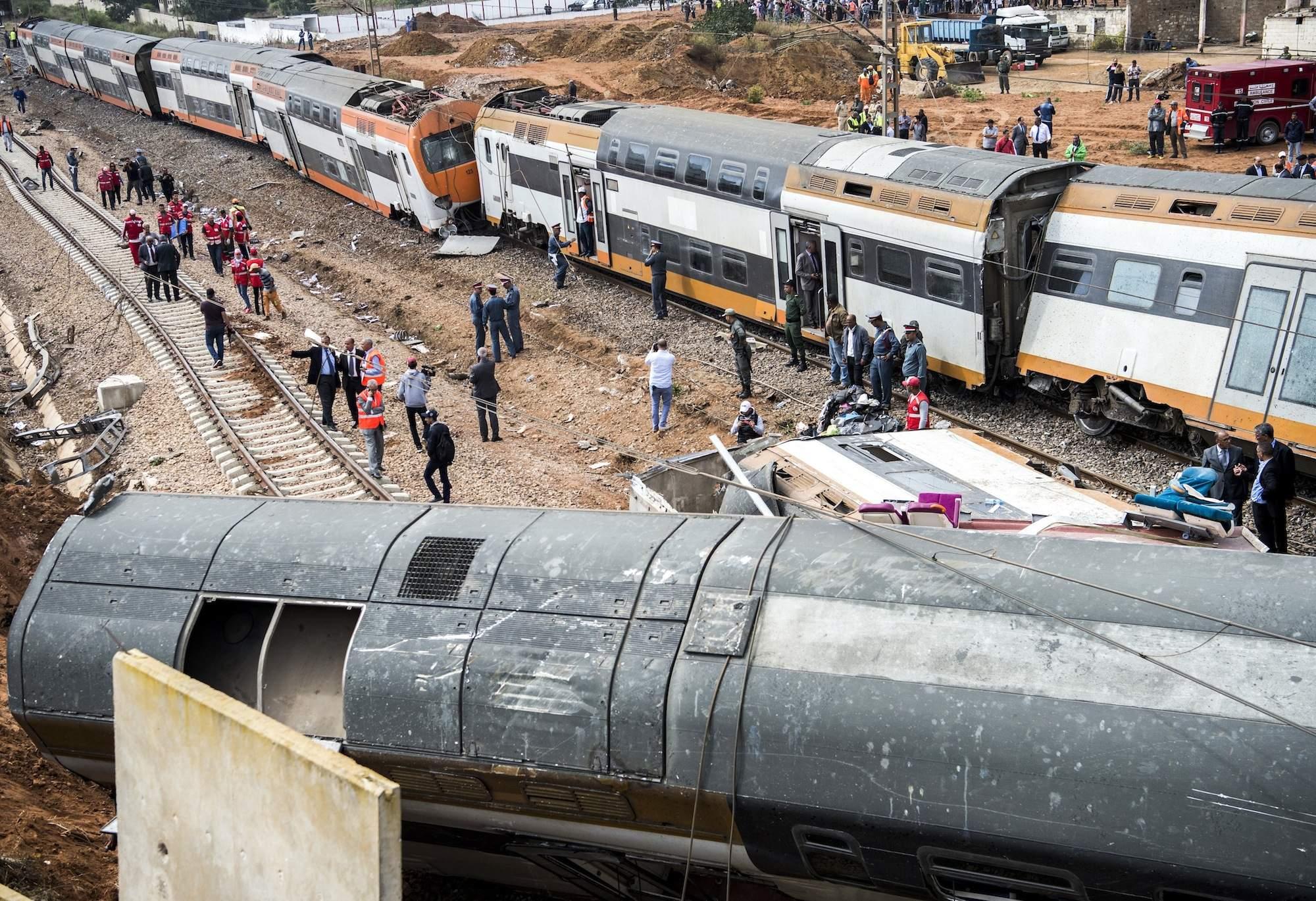 Accident de Bouknadel: La vitesse excessive du train mise en cause
