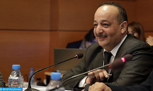 Laâraj à Alger pour l'avenir de la jeunesse africaine