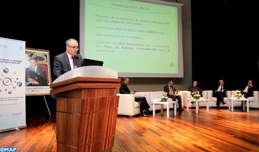 Qualité: Le Maroc revendique la production de 1.100 normes en 2018