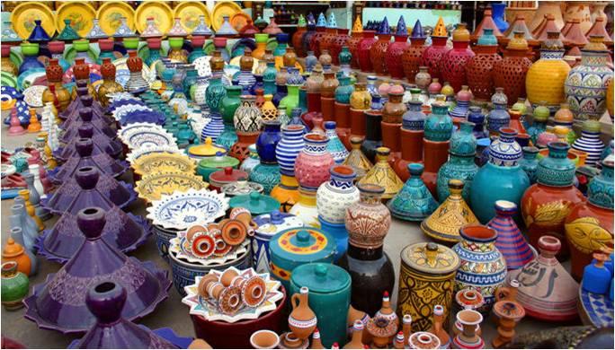 Bonne tenue des exportations de produits d'artisanat