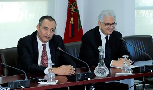 CESE: Passation de pouvoir entre Nizar Baraka et Ahmed Reda Chami