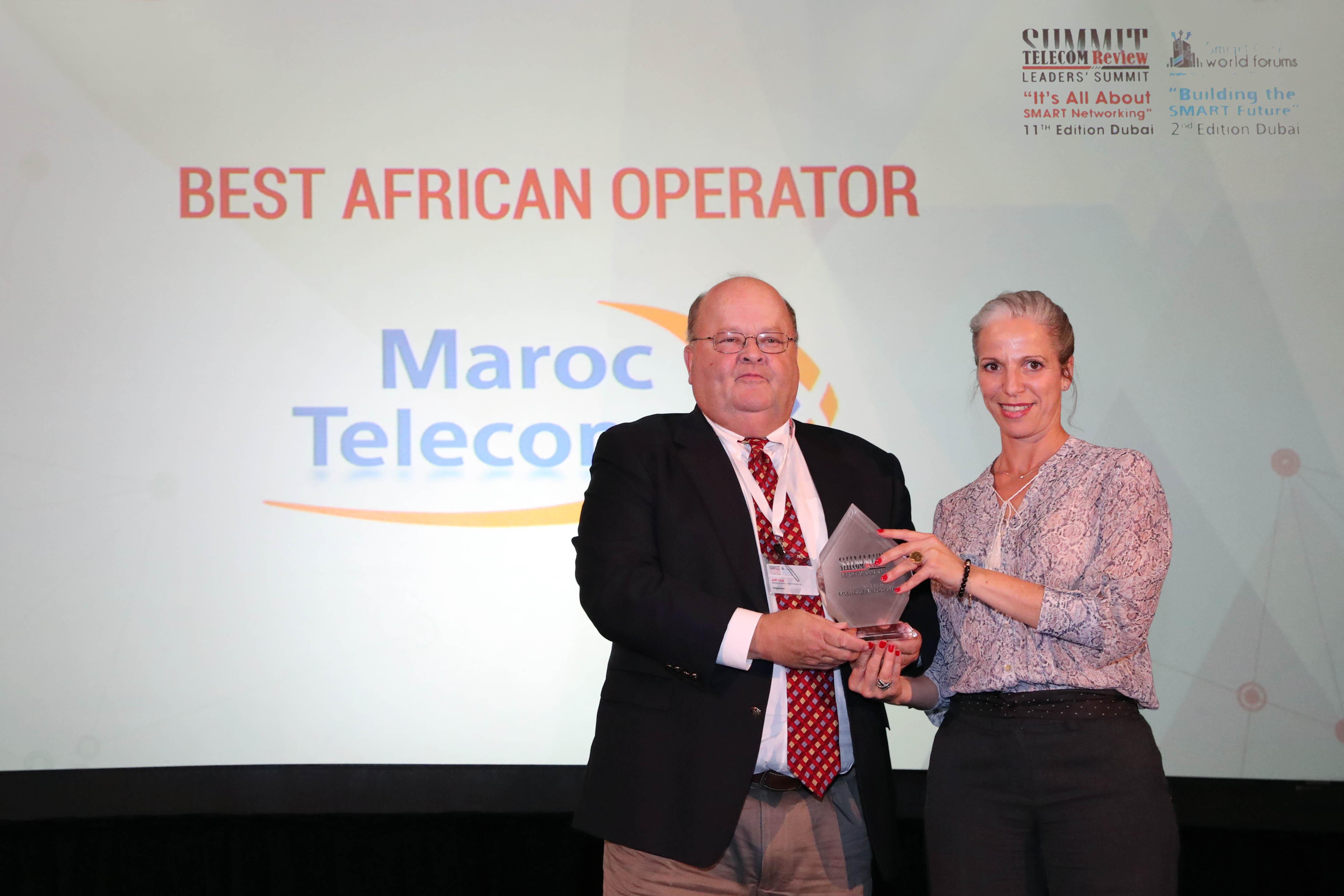 Maroc Telecom primé «Meilleur opérateur africain»