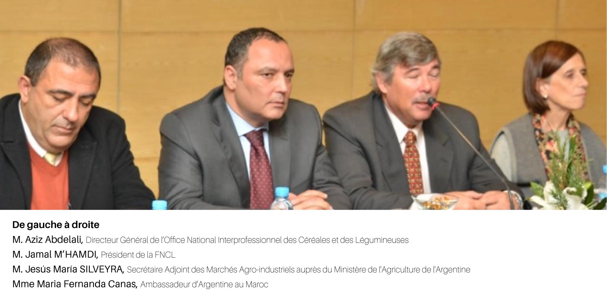 Maroc-Argentine: Parlons céréales!