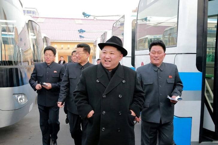 Kim Jong Un en visite en Chine