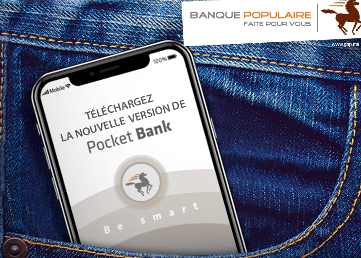 Application mobile : La Banque Populaire lance la nouvelle génération de «Pocket Bank»
