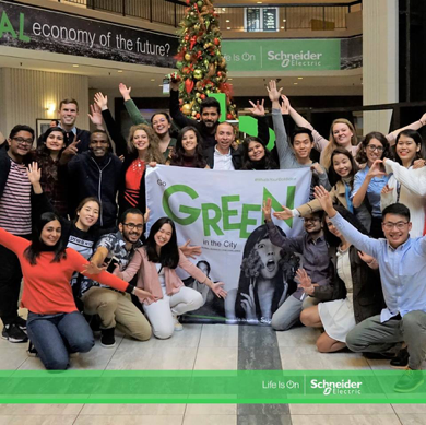 Schneider Electric lance Go Green in the City 2019