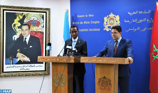 Rapprochement politique entre le Maroc et la Somalie