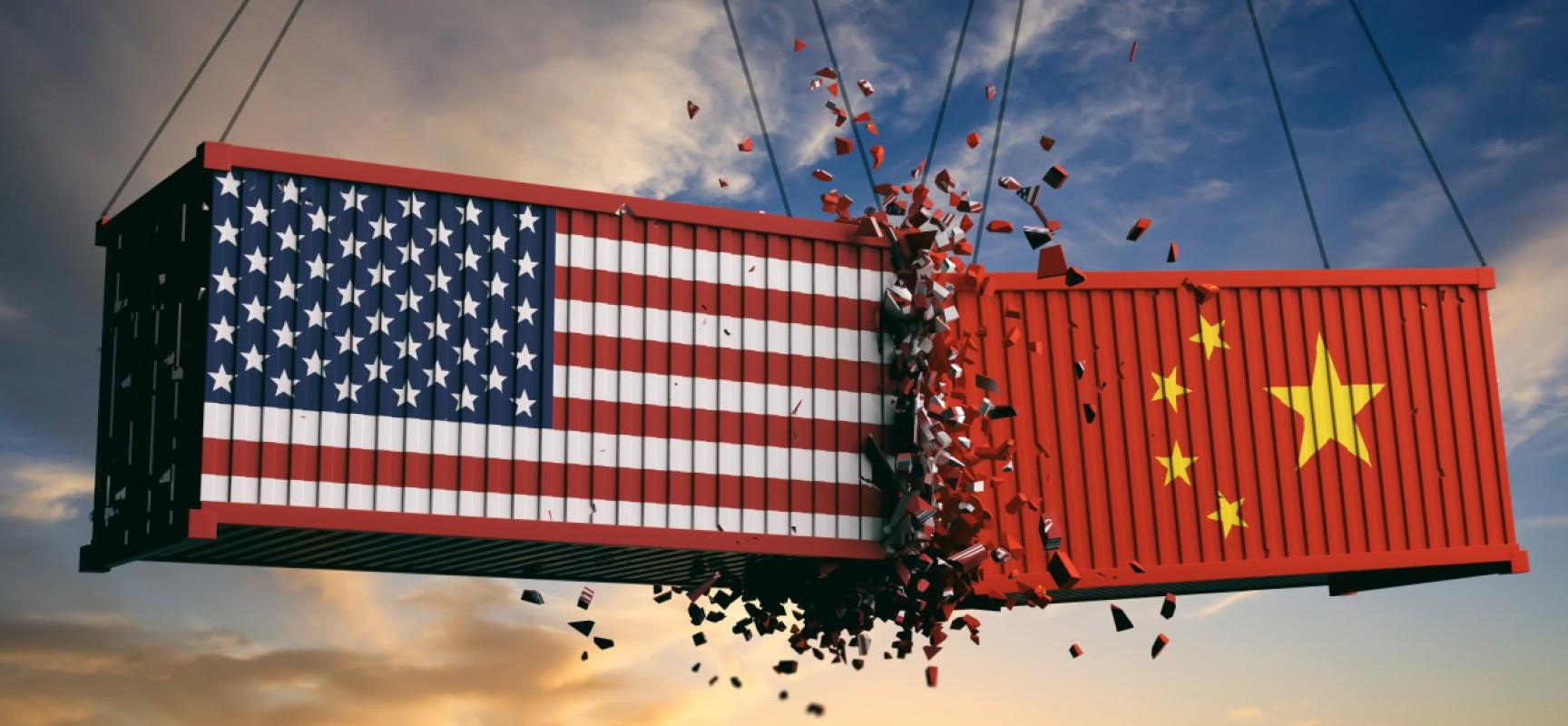 Les taxes douanières sur 200 milliards $ de biens chinois vont être relevées